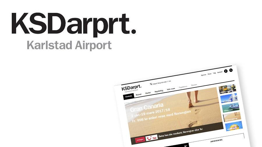HUAROS uppdrag för Karlstad Airport