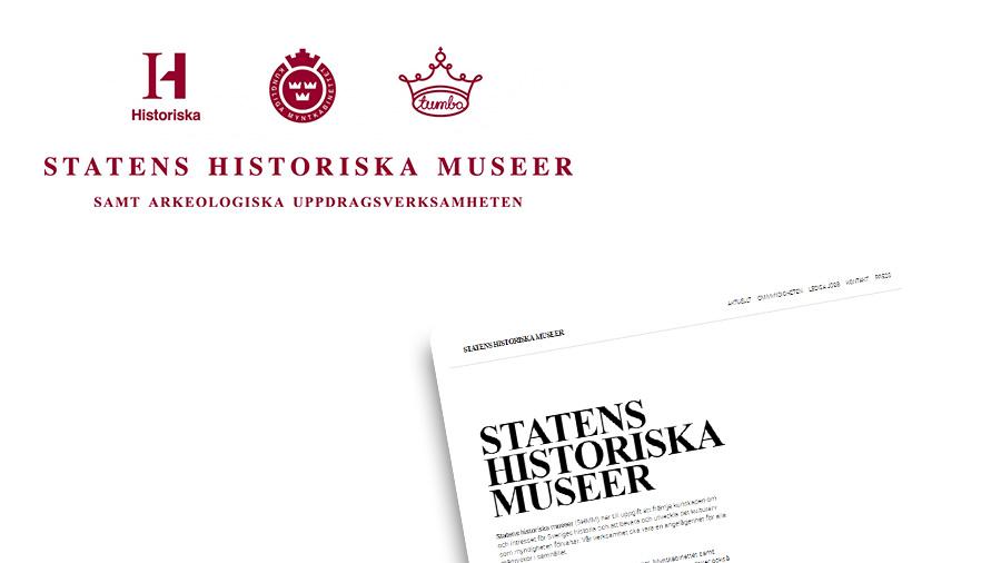 HUAROS uppdrag för Statens historiska museer