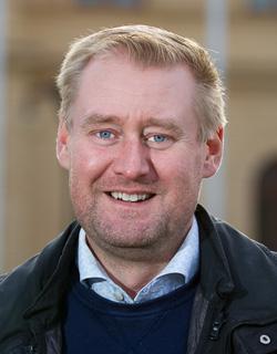 Olof Bergold, Hållbarhetskonsult - Hållbar Utveckling Aros. Fotograf: Jens Kvistgaard